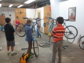 Bike repair in mechanical engineering