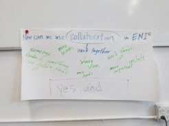 How can we use collaboration in ENI?